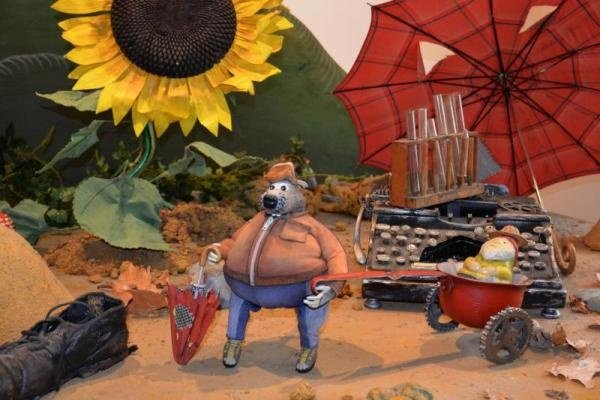 Výstava z loutkového animovaného večerníčku Krysáci