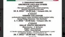 Koncertní sezona 2012