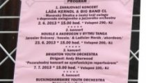 Koncertní sezona 2013
