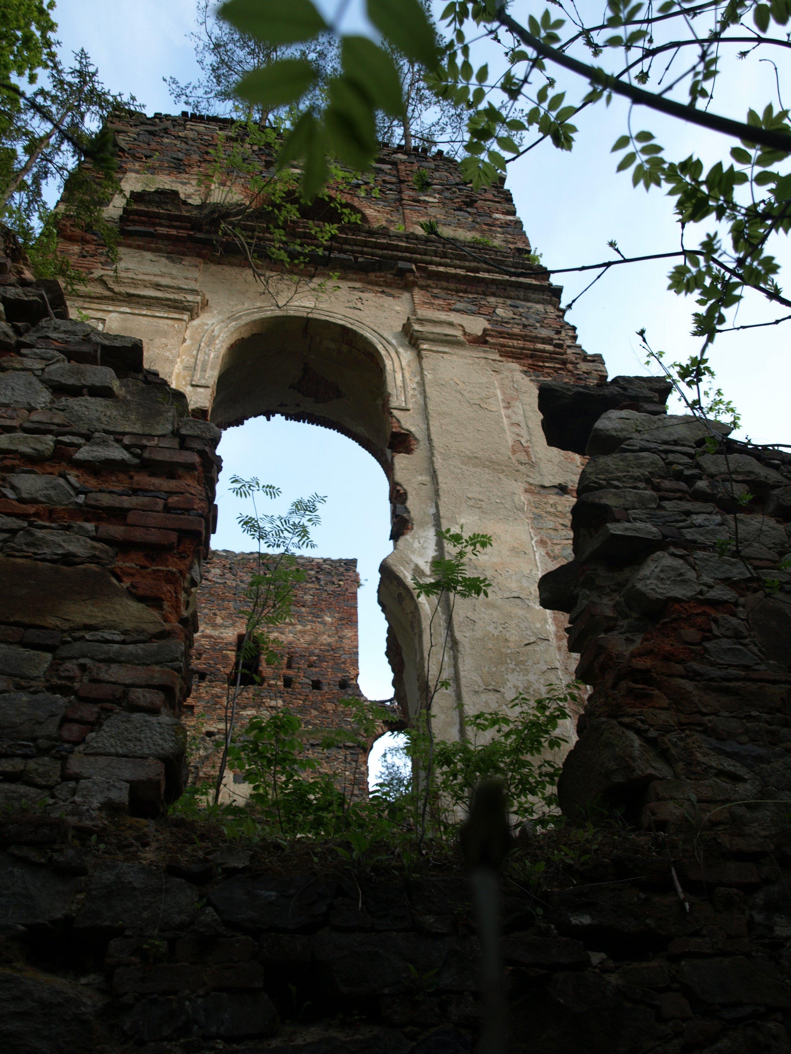 Ruiny nedostavěného zámku