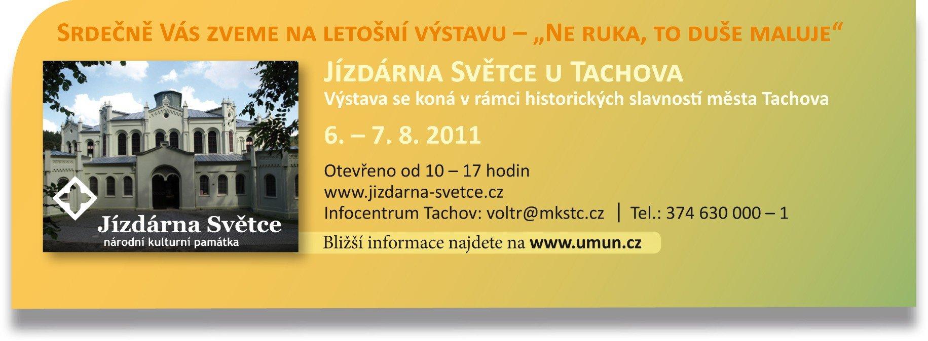Výstava v rámci historických slavností města Tachova